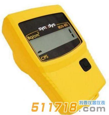 RDS-80表面沾污仪如何显示和改变报警水平?